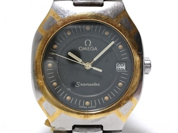 OMEGA(オメガ) 腕時計 シーマスターポラリス 2510.4 ボーイズ SS ダークグレー