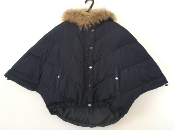 ANNA KERRY(アンナケリー) ダウンジャケット サイズ38 M レディース美品  ネイビー
