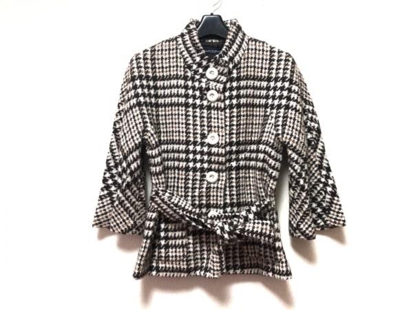 キャサリンハーネル コート サイズ36 S レディース美品  冬物/ショート丈/ツイード