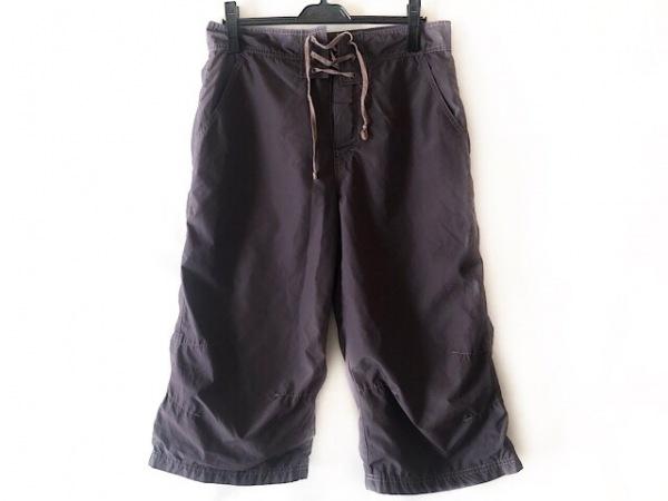 コムデギャルソンシャツ パンツ サイズM レディース グレー×ピンク 編み上げ