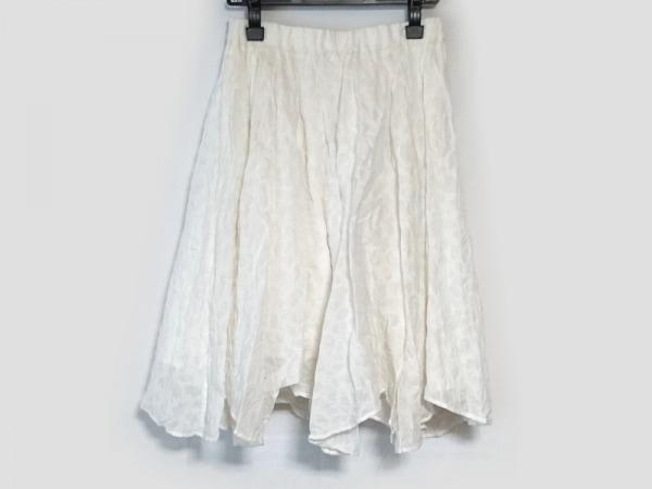 JulienDavid(ジュリアンデイヴィッド) スカート サイズS レディース アイボリー