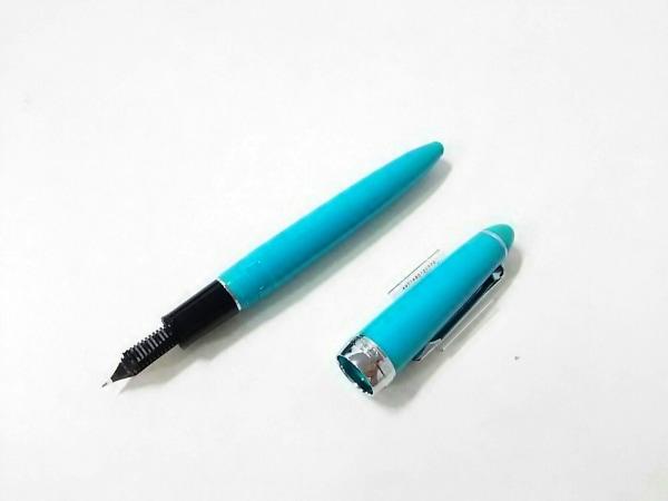 SAILOR(セーラー) 万年筆新品同様  グリーンブルー×シルバー インクなし