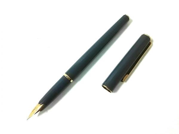 パイロット 万年筆美品  ダークグレー×ゴールド インクなし/ペン先14K 金属素材