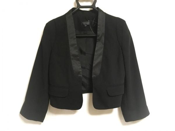 TOPSHOP(トップショップ) ジャケット サイズ34 M レディース美品  黒
