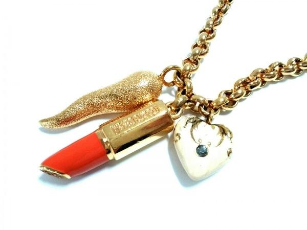RobertoCavalli(ロベルトカヴァリ) ネックレス美品  金属素材 ゴールド×マルチ