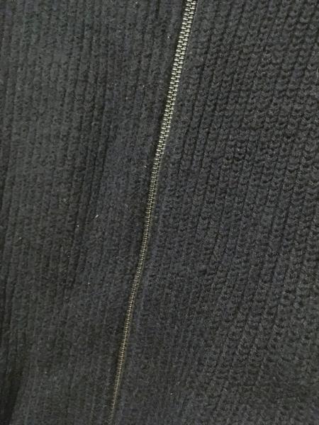 ユナイテッドアローズ ブルゾン サイズXL メンズ ダークネイビー ニット/冬物