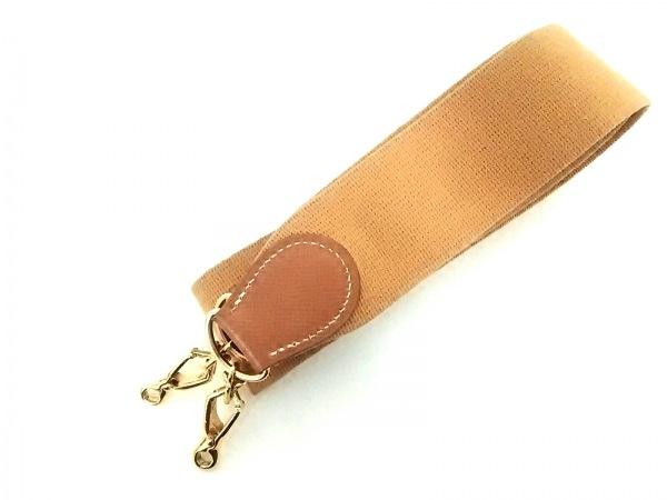 HERMES(エルメス) ショルダーストラップ ブラウン エブリン用ストラップ/ゴールド金具