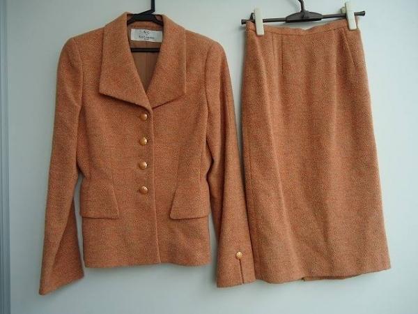 KARL LAGERFELD(カールラガーフェルド) スカートスーツ レディース新品同様  ブラウン