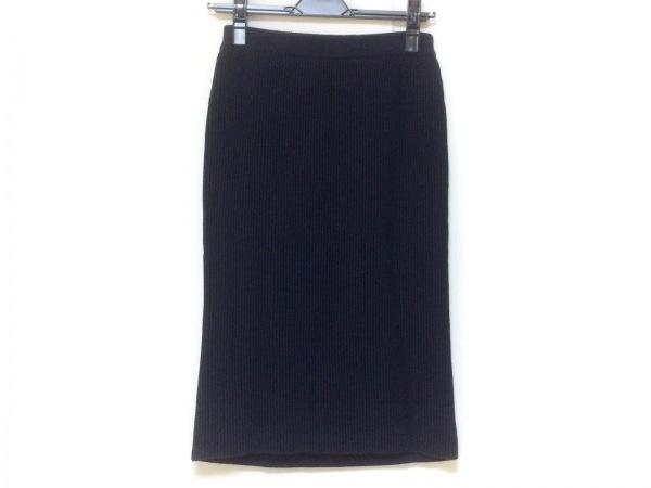 セドリック シャルリエ スカート サイズ40 M レディース美品  ネイビー
