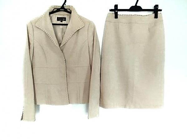 SONIARYKIEL(ソニアリキエル) スカートスーツ サイズ40 M レディース ベージュ SONIA