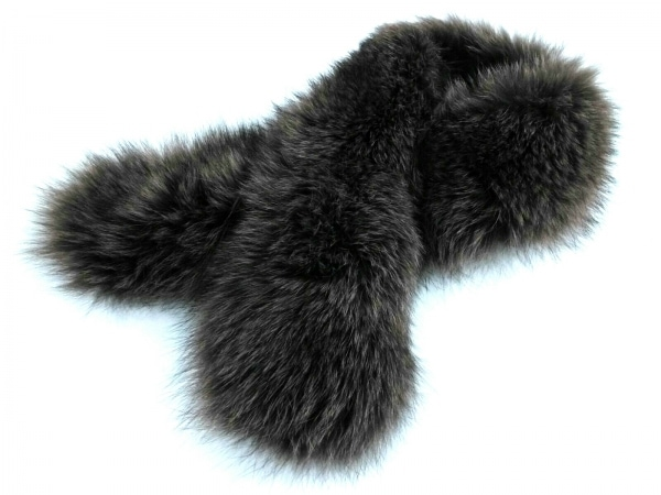 Moon Bat Fur(ムーンバットファー) マフラー美品  ダークブラウン ファー
