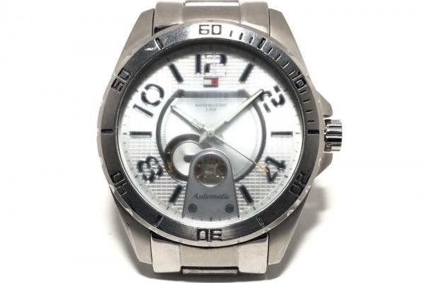 TOMMY HILFIGER(トミーヒルフィガー) 腕時計 TH.79.1.14.0806 メンズ シルバー