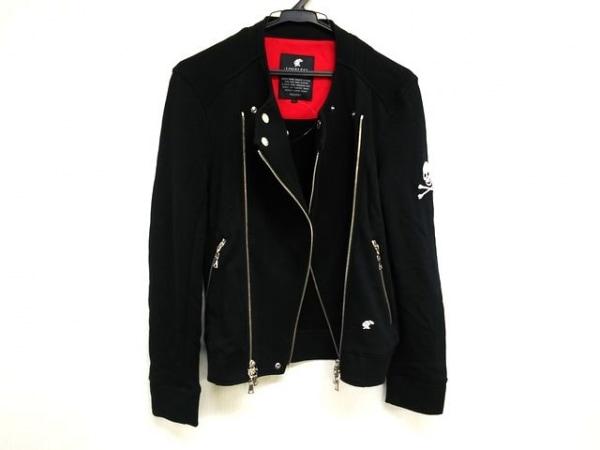 LOVELESS(ラブレス) ジャケット サイズ1 S メンズ美品  黒 スカル/ジップアップ