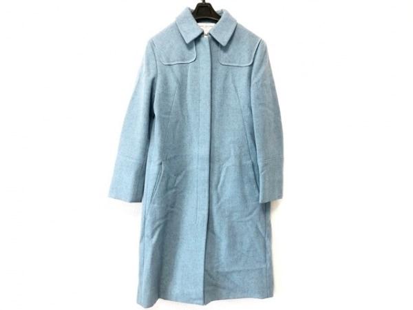 マークジェイコブスルック コート サイズ40 M レディース美品  ライトブルー