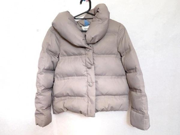 Espeyrac(エスペラック) ダウンジャケット レディース美品  ライトブラウン 冬物