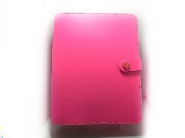 Filofax(ファイロファックス) 手帳美品  ザ・オリジナル ピンク A5 レザー