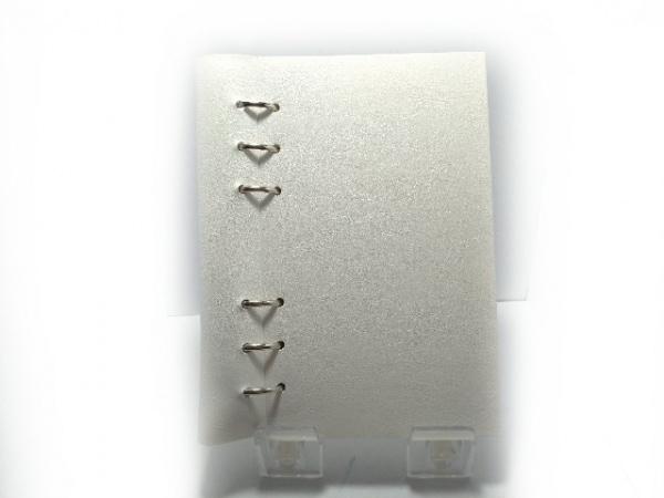 Filofax(ファイロファックス) 手帳美品  クリップブック 白 合皮