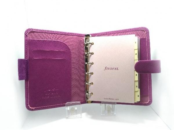 Filofax(ファイロファックス) 手帳美品  サフィアーノ パープル スモール 合皮