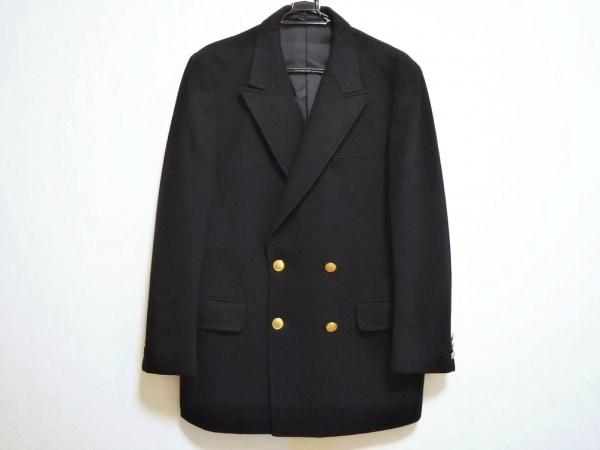 J.PRESS(ジェイプレス) ジャケット メンズ美品  ダークネイビー 冬物 ウールフラノ