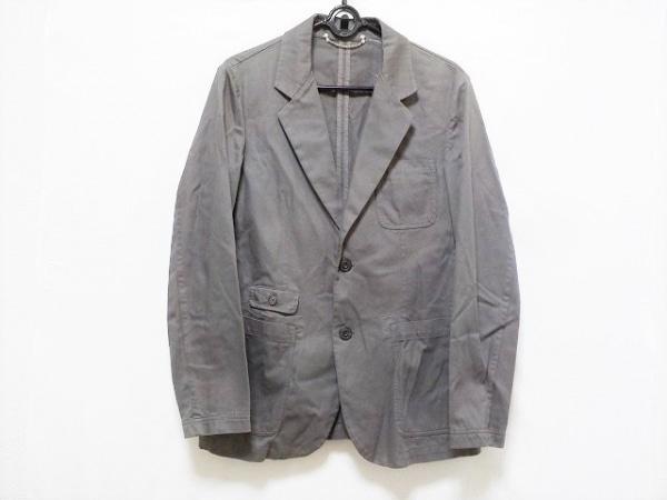 シーピーカンパニー ジャケット サイズ48 XL メンズ美品  ブラウングレー
