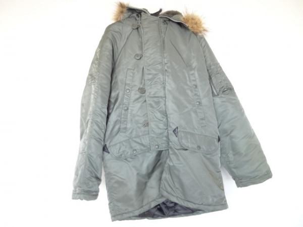 SPIEWAK(スピーワック) ダウンコート サイズ40 M メンズ美品  カーキ 冬物