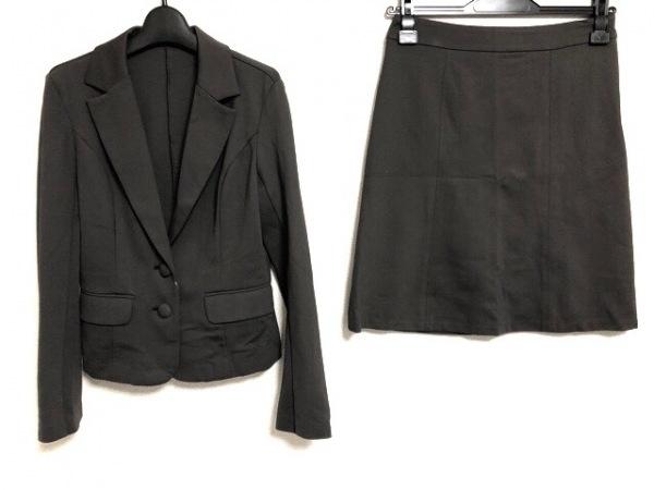 LOUNIE(ルーニィ) スカートスーツ サイズ38 M レディース ダークブラウン