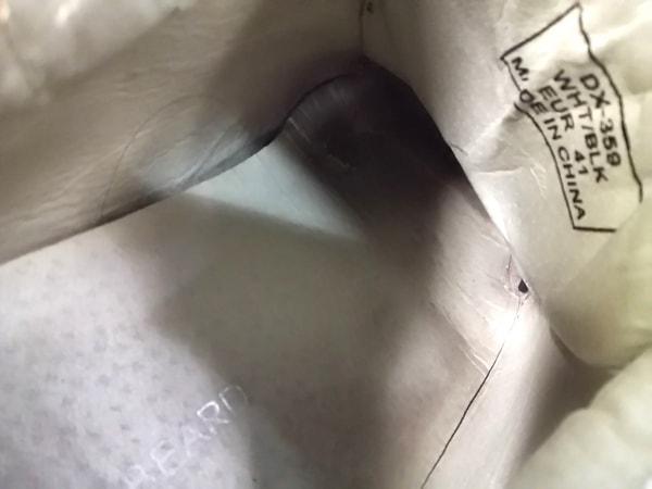 DRAGONBEARD(ドラゴンベアード) シューズ EUR 41 メンズ 白×黒 レザー