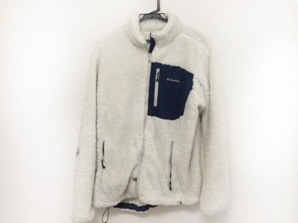 columbia(コロンビア) コート サイズXL レディース美品  白×ダークネイビー 冬物