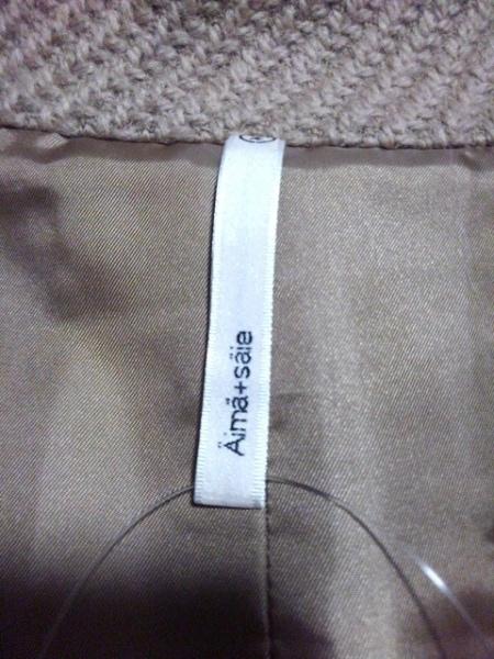 Aima+saie(アイマサイエ) コート サイズ2 M レディース ベージュ