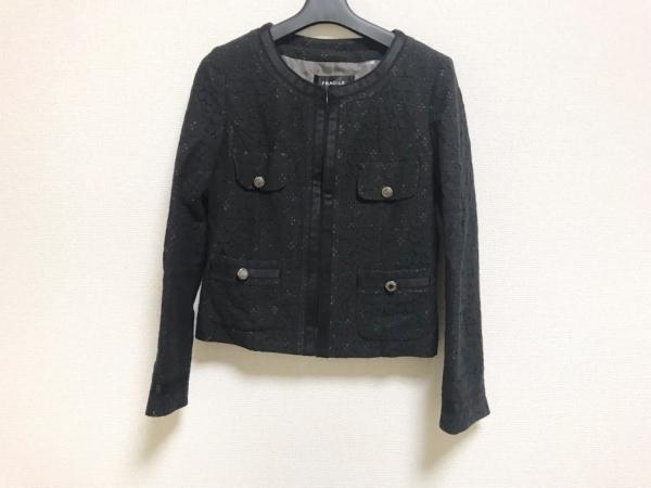 FRAGILE(フラジール) ジャケット サイズ38 M レディース美品  黒