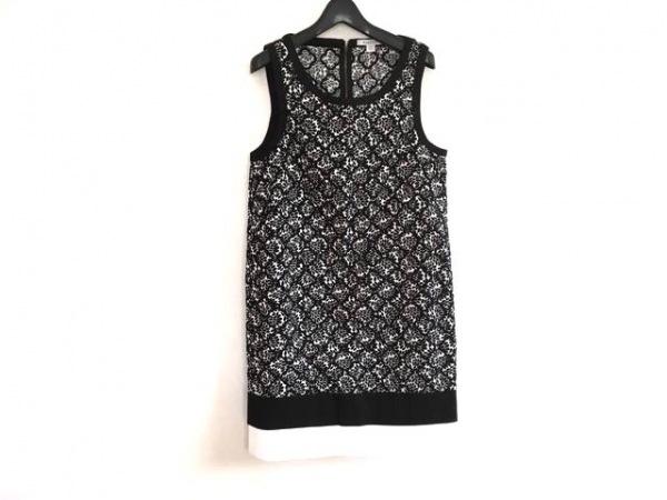 MARELLA(マレーラ) ワンピース レディース美品  黒×白 刺繍