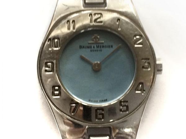 BAUME&MERCIER(ボーム&メルシエ) 腕時計 MV045204 レディース ブルー