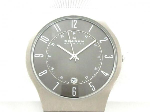 SKAGEN(スカーゲン) 腕時計 233XLTTM メンズ ダークグレー