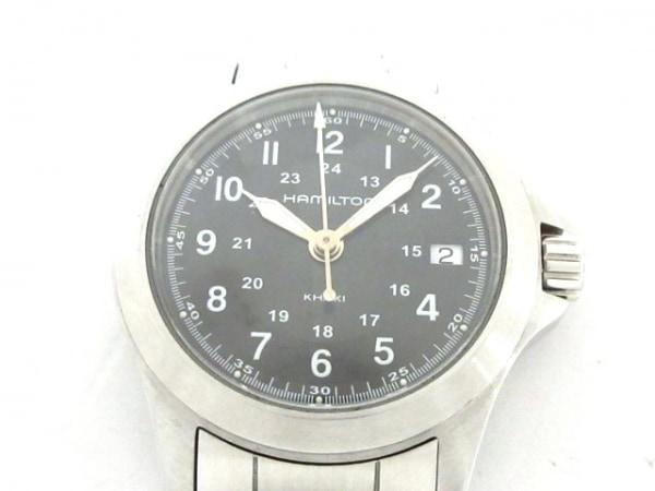 HAMILTON(ハミルトン) 腕時計 カーキ H642110 レディース 黒