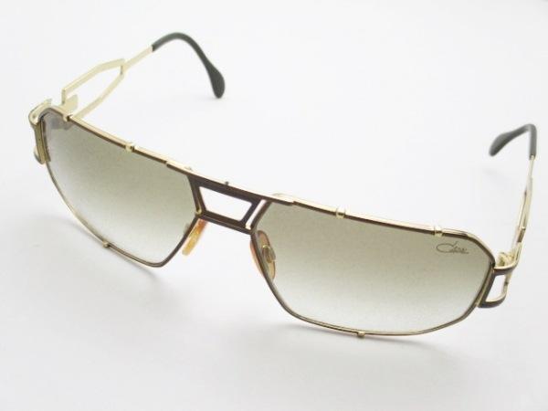 CAZAL(カザール) サングラス - ブラウン プラスチック×金属素材
