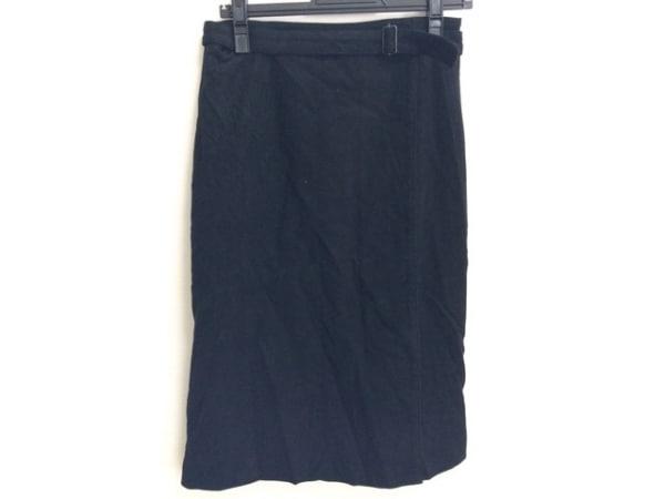 SONIARYKIEL(ソニアリキエル) 巻きスカート サイズ42 L レディース 黒