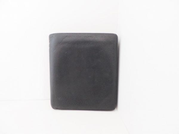 PORSCHE DESIGN(ポルシェデザイン) 2つ折り財布 黒 レザー