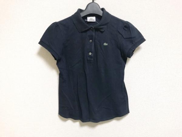 Lacoste(ラコステ) 半袖ポロシャツ サイズ40 M レディース ダークネイビー
