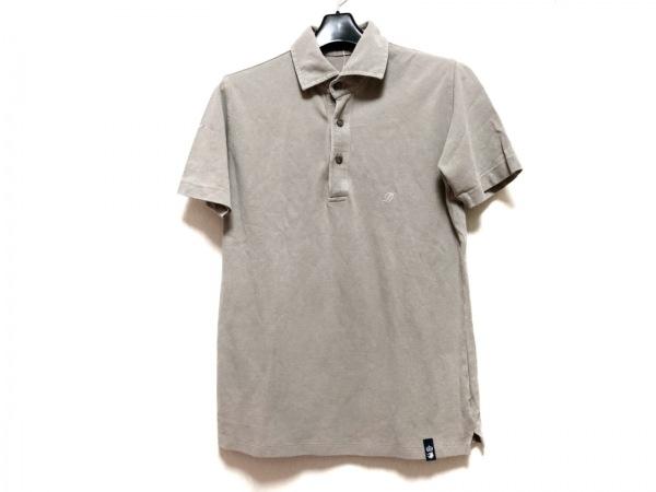 Drumohr(ドルモア) 半袖ポロシャツ サイズS メンズ ライトブラウン