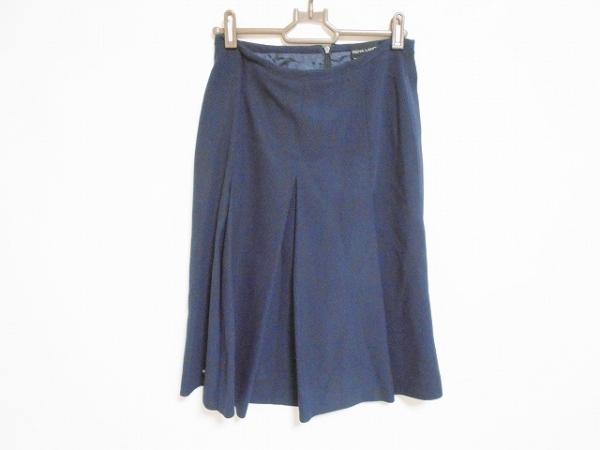 RENA LANGE(レナランゲ) スカート サイズ40 M レディース美品  ダークネイビー