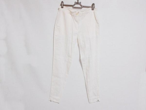 theory(セオリー) パンツ サイズ0 XS レディース美品  白