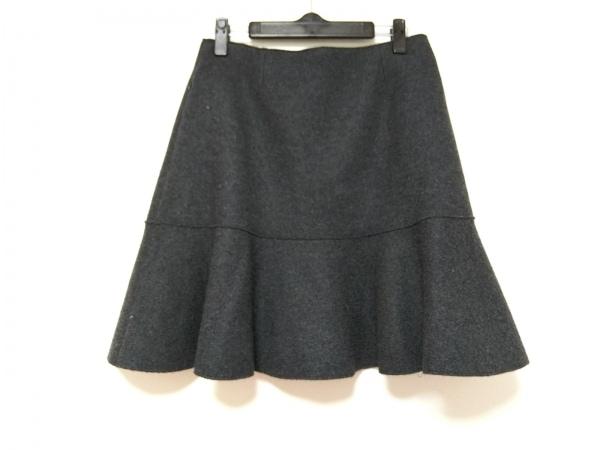 FOXEY(フォクシー) スカート サイズ40 M レディース美品  ダークグレー
