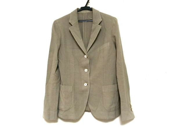 BOGLIOLI(ボリオリ) ジャケット サイズ40 M レディース ベージュ