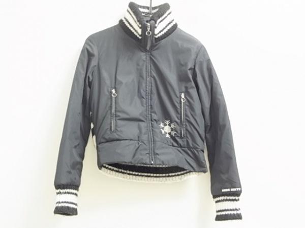 MISS SIXTY(ミスシックスティ) ダウンジャケット レディース 黒×白 冬物