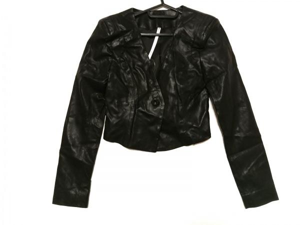 MURUA(ムルーア) ジャケット サイズ1 S レディース新品同様  黒 肩パッド/春・秋物