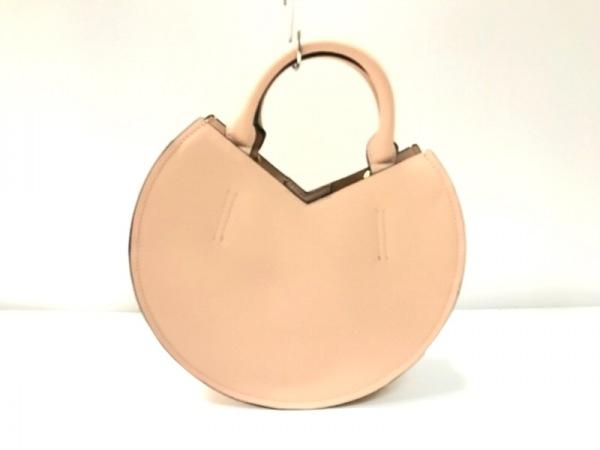 HASHIBAMI(ハシバミ) ハンドバッグ ピンク 合皮