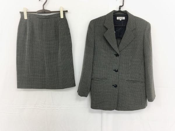 Premiere(プルミエール) スカートスーツ サイズ40 M レディース美品  黒×アイボリー
