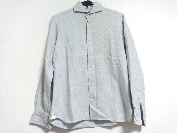 ORIAN(オリアン) 長袖シャツ メンズ新品同様  ライトグレー Vintage