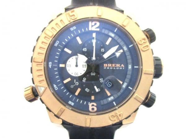 BRERA OROLOGI(ブレラオロロジ) 腕時計 ソットマリノダイバー BRDVC47 メンズ 黒