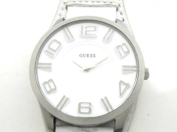 GUESS(ゲス) 腕時計 W12624G1 メンズ 白